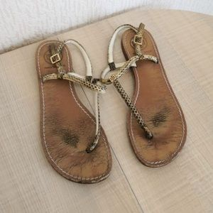 ••AS IS LOW PRICE TORY BURCH SANDALS $225 RETAIL••